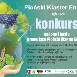 Konkurs na logo i hasło promujące Płoński Klaster Energii